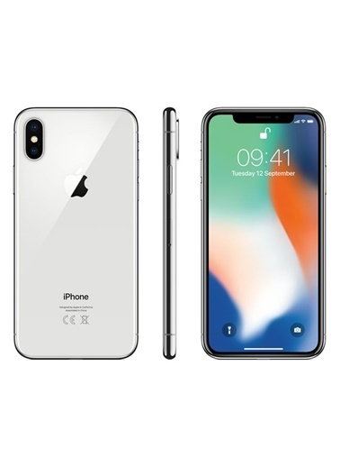 iPhone X 64 GB Silver-Apple